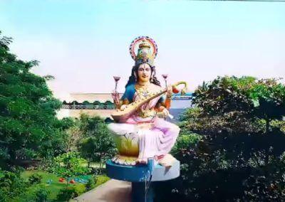Karthi Vidhyalaya Statue
